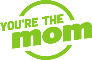 You're the Mom Green Logo