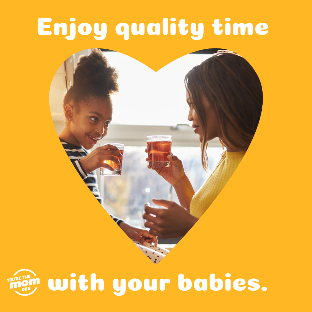 """Text on image says """" Enjoy quality time with your babies."""" The image will link you to the blog post """"What is readiness?"""""""
