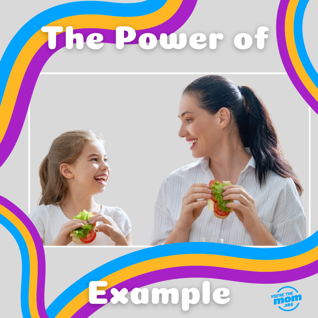 """Text on the image says """"the power of example"""". The image will link you to the blog post """"The importance of structure."""""""